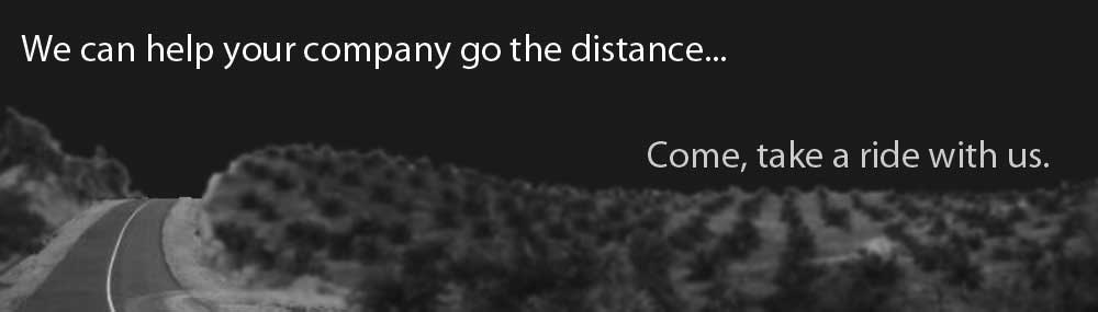 We can help make your company go the distance
